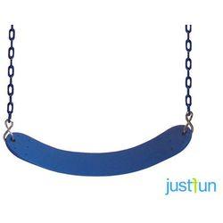 Huśtawka elastyczna na łańcuchu powlekanym - niebieski