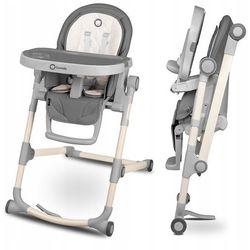 Lionelo cora stone krzesełko do karmienia