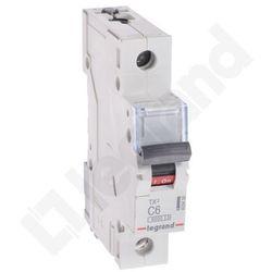 Wyłącznik nadprądowy Legrand 1P C 6A 6kA AC S301 605606/403430