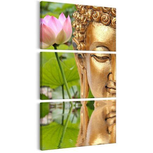 Obrazy, Obraz - Posąg z kwiatem
