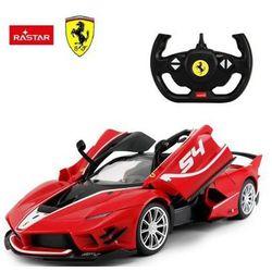 Duże Licencjonowane Zdalnie Sterowane Ferrari FXX-K EV0 (1:14) + Bezprzewodowy Pilot.