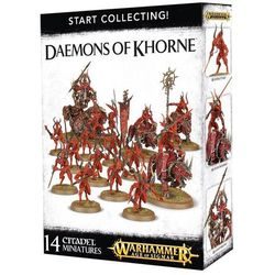 Start Collecting! Daemons Of Khorne (70-97) GamesWorkshop 99129915027