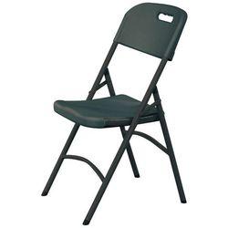 Krzesło cateringowe składane 540x440x840, czarne | HENDI, 810989