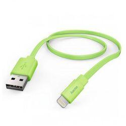 HAMA USB-Lightning 1.2m MFI taśmowy zielony >> PROMOCJE - NEORATY -- OD 99 ZŁ