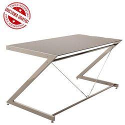 Biurko Z-line - Chrom - Main Desk Black, NEGOCJUJ CENĘ