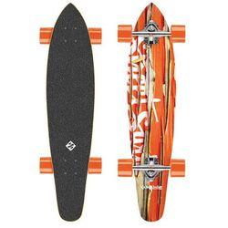 "Longboard Street Surfing Kicktail - Damaged Orange 36"""
