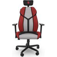 Fotele dla graczy, Fotel dla gracza SPC Gear EG450 CL czarno-czerwono-szary