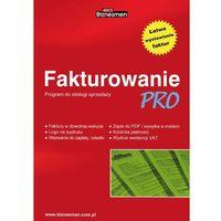 Programy kadrowe i finansowe, Fakturowanie PRO - 1 firma / 1 stanowisko