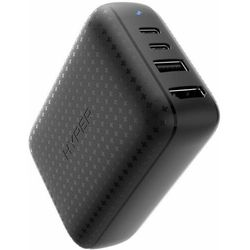Hyper hub USB Drive 60W USB-C Power Hub - GaN adapter zasilający i HDMI hub HY-HDNS-60-Black, czarny