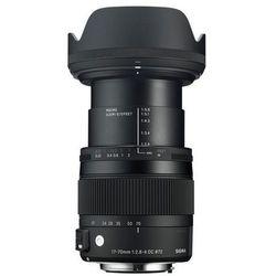 Obiektyw SIGMA Digital C 17-70/2.8-4 DC Macro OS HSM Nikon + DARMOWY TRANSPORT!