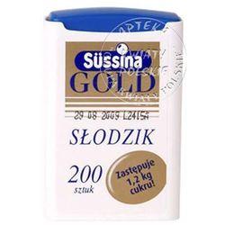 Sussina Gold, tabl.,slodzik, 200 szt