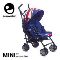 Wózki spacerowe, MINI by Easywalker Wózek spacerowy z osłonką przeciwdeszczową XL Union Jack Classic