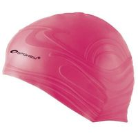 Czepki, Spokey Shoal - czepek pływacki (różowy)