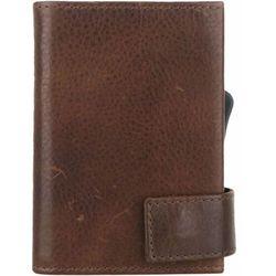 SecWal SecWal 2 Kreditkartenetui Geldbörse RFID Leder 9 cm braun ZAPISZ SIĘ DO NASZEGO NEWSLETTERA, A OTRZYMASZ VOUCHER Z 15% ZNIŻKĄ