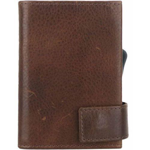 Etui i pokrowce, SecWal SecWal 2 Kreditkartenetui Geldbörse RFID Leder 9 cm braun ZAPISZ SIĘ DO NASZEGO NEWSLETTERA, A OTRZYMASZ VOUCHER Z 15% ZNIŻKĄ