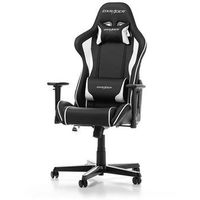 Fotele dla graczy, Fotel DXRacer Formula Gaming czarno-biały OH/FH08/NW Darmowy odbiór w 21 miastach!