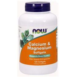 Now Foods Calcium & Magnesium - CAL-MAG Forte 120 kaps.