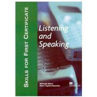 Książki do nauki języka, Skills for First Certificate, Listening and Speaking Student's Book (podręcznik) (opr. miękka)