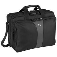 Pokrowce, torby, plecaki do notebooków, Torba Wenger Legacy Triple Case Black 17.0 (67653140) Darmowy odbiór w 19 miastach!