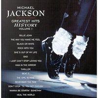 Muzyka dance i disco, MICHAEL JACKSON - MICHAEL JACKSON GREATEST HITS HISTORY VOLUME I (CD)