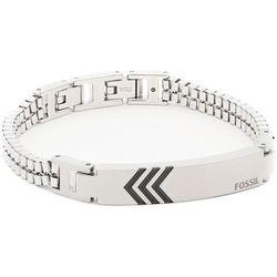 Bransoletka FOSSIL - Classics JF03392040 Silver