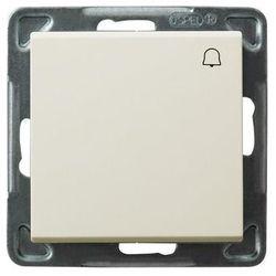 Przycisk dzwonek Ospel Sonata ŁP-6R/M/27 10AX IP20 ecru