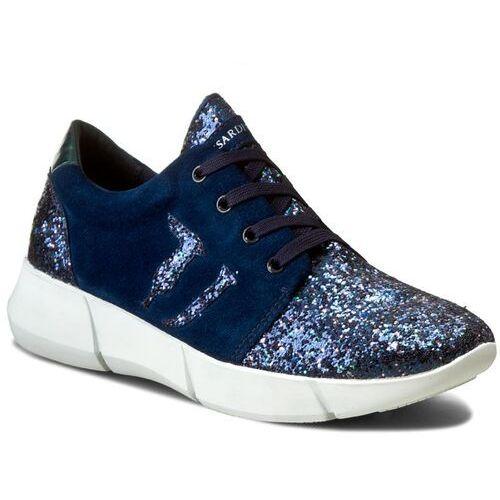 Półbuty damskie, Sneakersy TRUSSARDI JEANS - 79S260 49
