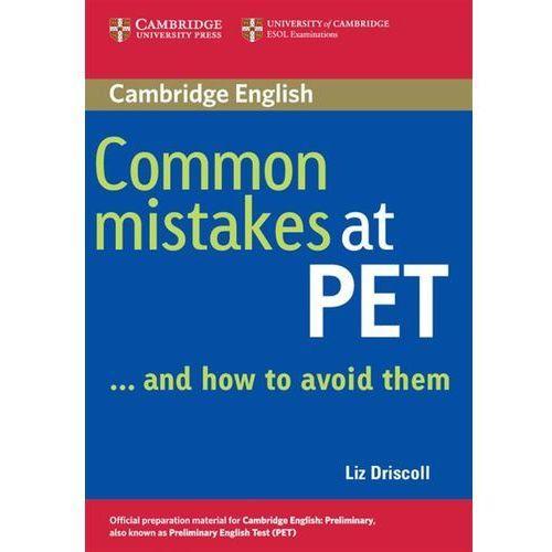 Książki do nauki języka, Common Mistakes At PET... And How To Avoid Them (opr. miękka)