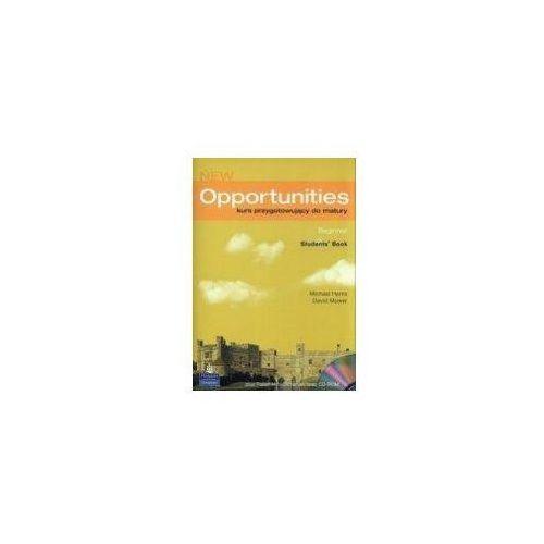 Książki do nauki języka, JĘZYK ANGIELSKI LO PODRĘCZNIK + PŁYTA CD. NEW OPPORTUNITIES BEGINNER (opr. miękka)