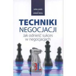 TECHNIKI NEGOCJACJI (opr. broszurowa)