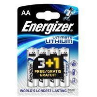 Akumulatorki, Energizer Ultimate Lithium L-91 AA 3+1 (BL04) Darmowy odbiór w 21 miastach!