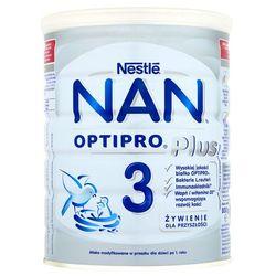 Nestle NAN Optipro Plus 3 puszka 800g- natychmiastowa wysyłka, ponad 4000 punktów odbioru!