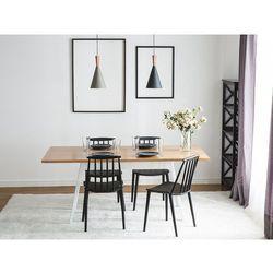 Stół biały - 180 cm - kuchenny - do jadalni - FLOW