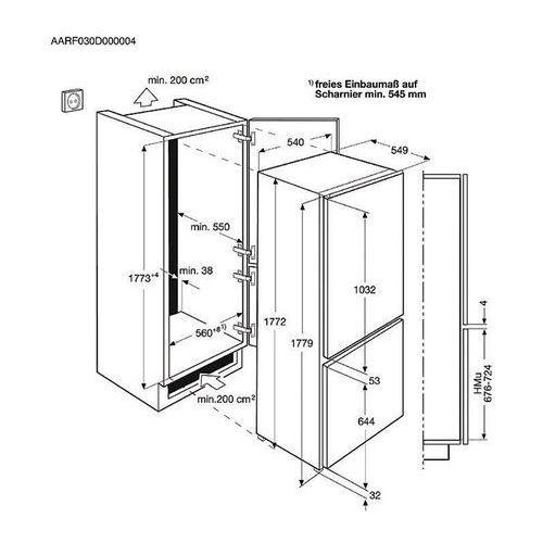 Lodówki i chłodziarki, Electrolux ENN2853CO