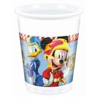 """Kubeczki dla dzieci, Kubeczki plastikowe """"Mickey Mouse Roadster Racers"""" 8 szt."""