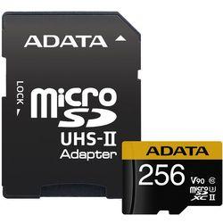 Karta MicroSD ADATA Adata microSDXC 256GB Class 10 read/write 275/155MBps - AUSDX256GUII3CL10-CA1 Darmowy odbiór w 20 miastach!