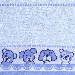 Greno Ręcznik dziecięcy Niedźwiadek 70x125 cm, niebieski