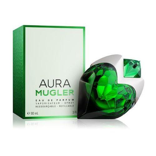 Wody perfumowane damskie, Mugler Aura 90ml edp