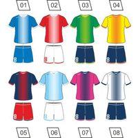 Piłka nożna, Strój piłkarski Colo Streamer + nadruk gratis