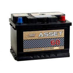 Akumulator ASSET 60Ah 520A EN PRAWY PLUS