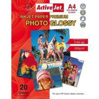 Papiery fotograficzne, Papier fotograficzny ACTIVEJET AP4-200G20