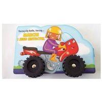 Książki dla dzieci, Toczą się koła, toczą...- Marcin i jego motocykl (opr. kartonowa)