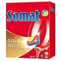 Kostki do zmywarek, Tabletki SOMAT Gold 40 szt.