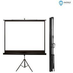 4world Ekran projekcyjny na statywie 244x183CM 120cali (4:3)