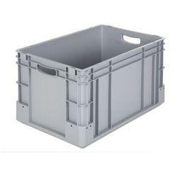 Pojemnik przemysłowy,poj. 60 l, dł. x szer. x wys. 600 x 400 x 320 mm, opak. 3 szt.