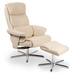 Rozkładany fotel Gordon - kremowy
