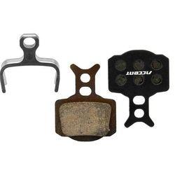 Klocki hamulcowe ACCENT Formula RX / R1 / Mega / The One bordowy / Materiał: półmetaliczne