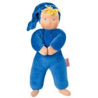 Lalki dla dzieci, KÄTHE KRUSE Organic Lalka Schatzi kolor niebieski