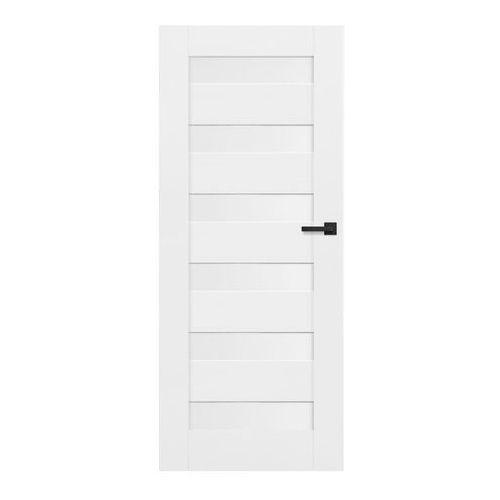 Drzwi wewnętrzne, Drzwi pełne Trame 70 lewe białe