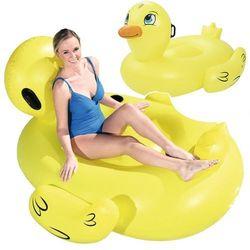 Bestway Duża dmuchana kaczka Docoda do pływania, żółta, 41106